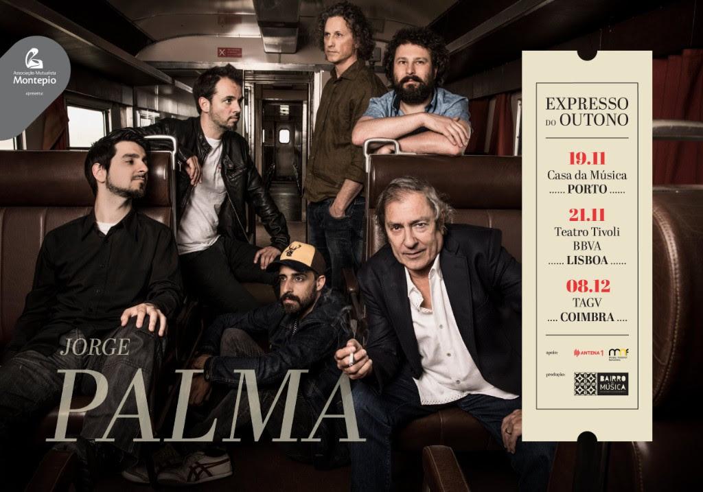 Jorge Palma - concertos - Expresso do Outono