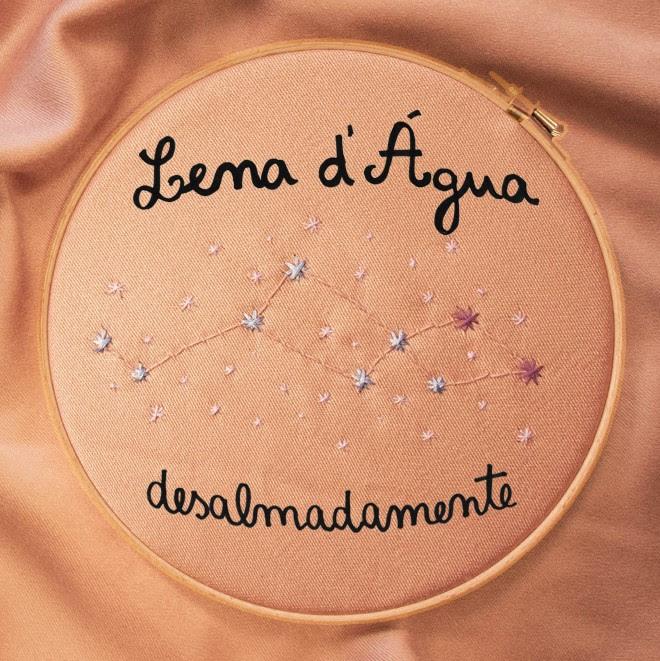 Lena d'Água - Desalmadamente - disco - capa