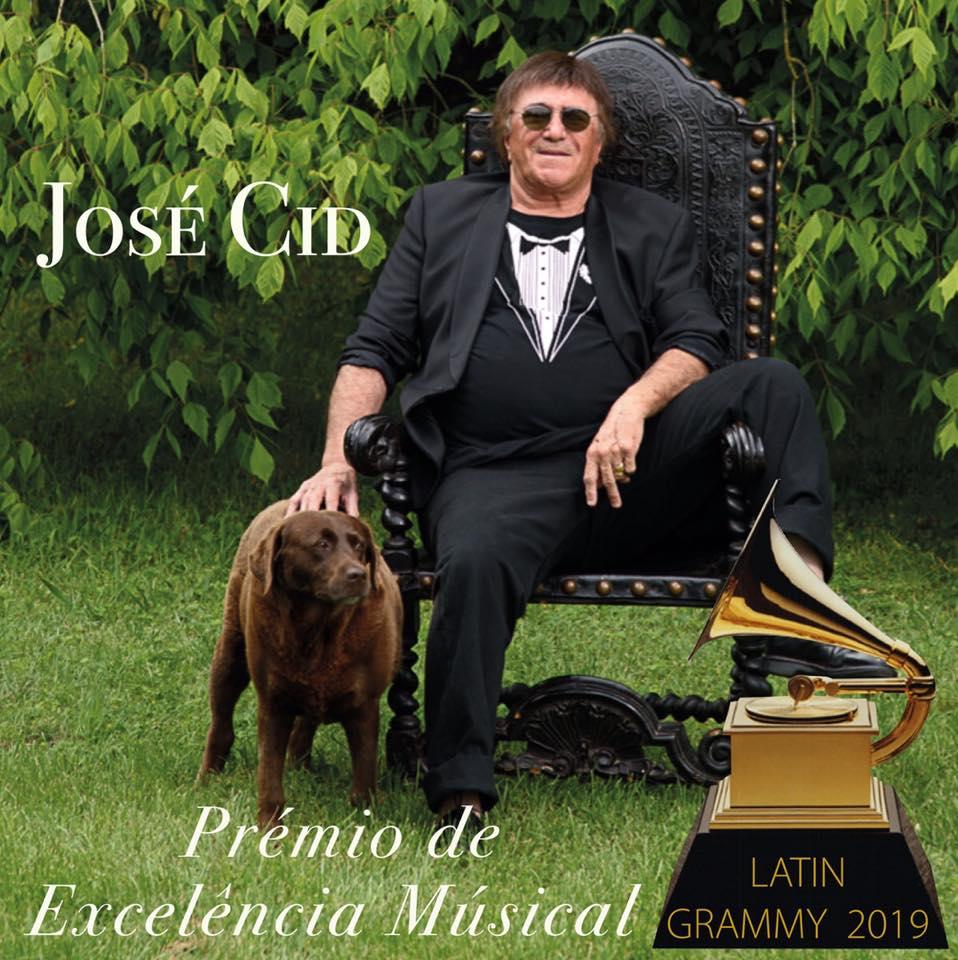 José Cid - grammy latino - prémio excelencia musical