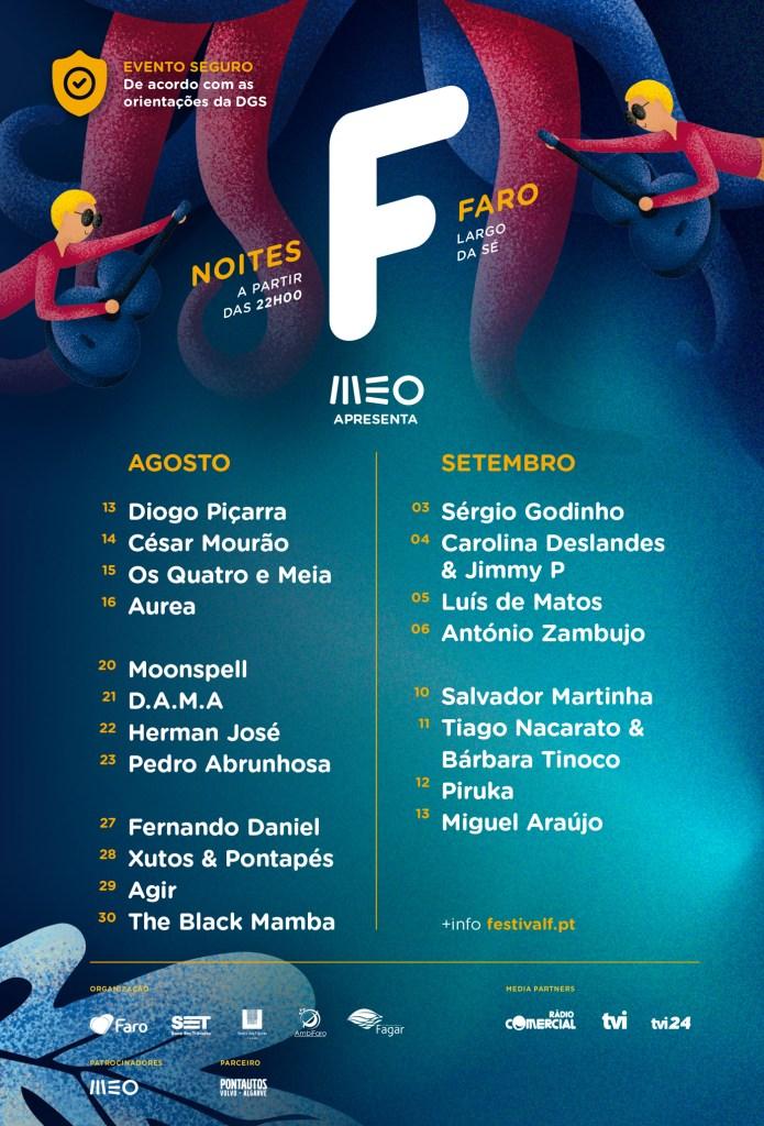 Cartaz Festival F Faro 2020