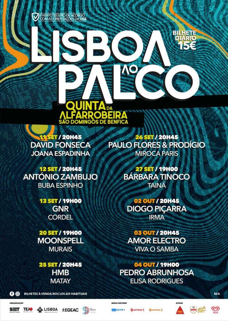 Lisboa ao Palco cartaz 2020