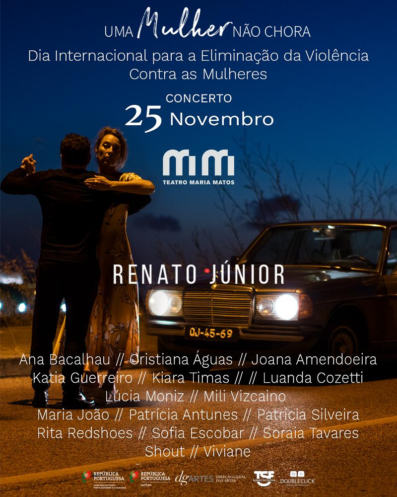 Uma Mulher Não Chora - Renato Júnior - concerto