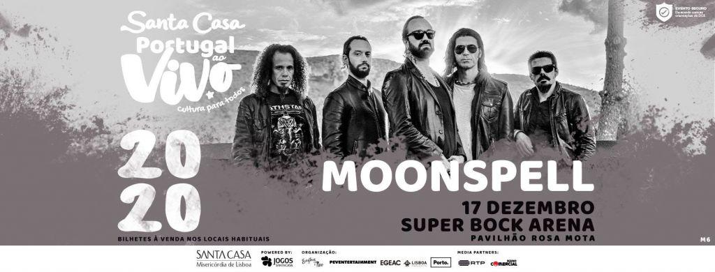Santa Casa Portugal ao Vivo - Moonspell