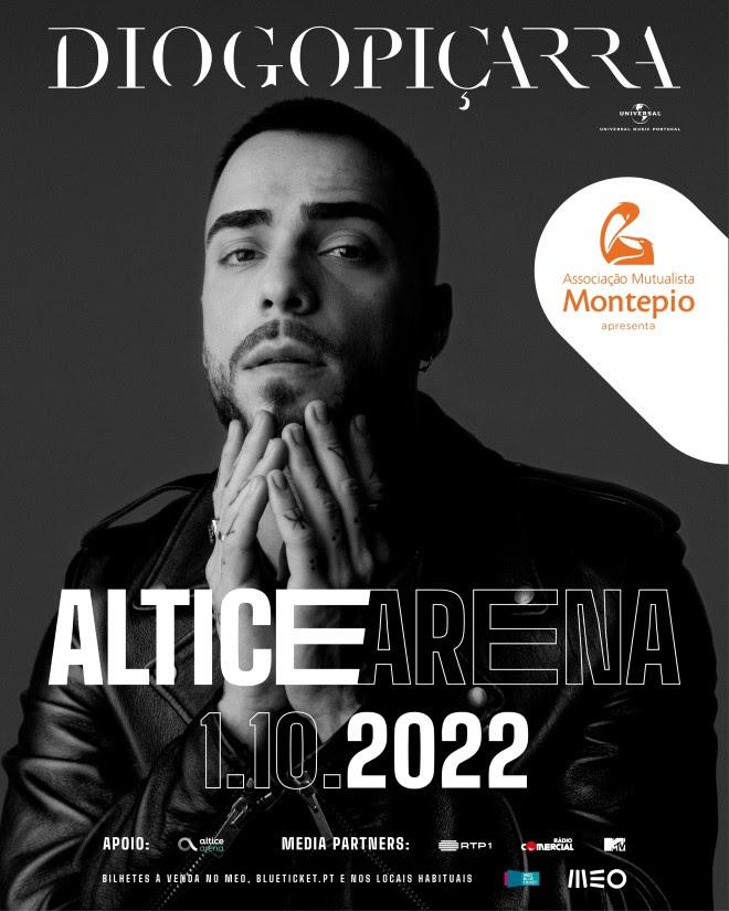 Diogo Piçarra - Concerto Altice Arena 2022