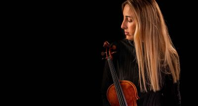 Violinista Malú Garcia