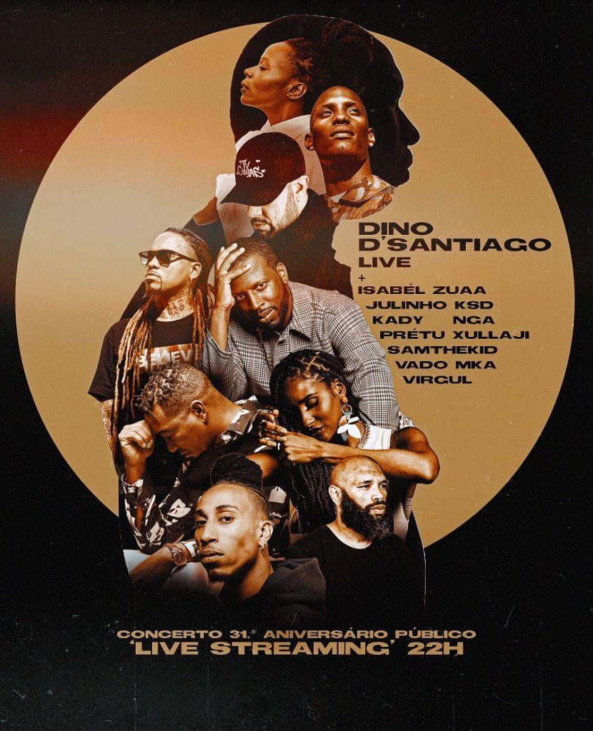 Dino D'Santiago concerto - convidados