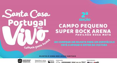 Santa Casa Portugal ao Vivo 2ª edição - cartaz 2021