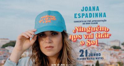 Joana Espadinha - Ninguém nos vai tirar o sol - letra