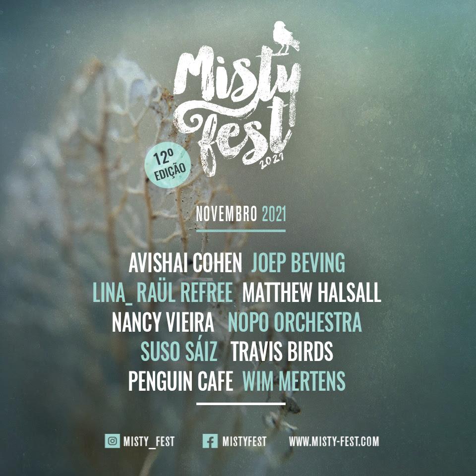 Cartaz Misty Fest 2021