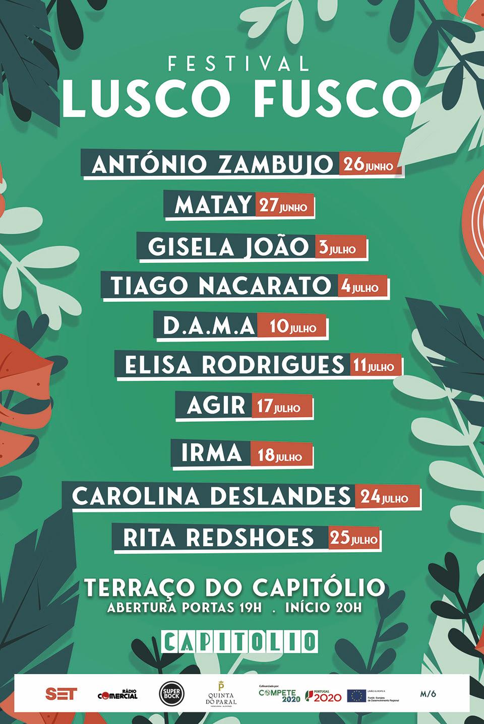 Festival Lusco Fusco - Terraço do Capitólio