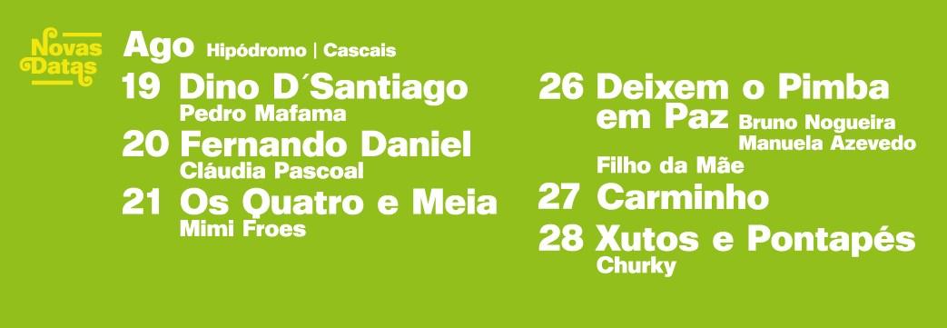Cartaz Festival Música no Parque 2021