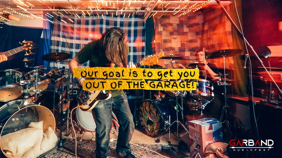 GARBAND Music Fest Gaia - inscrições - bandas