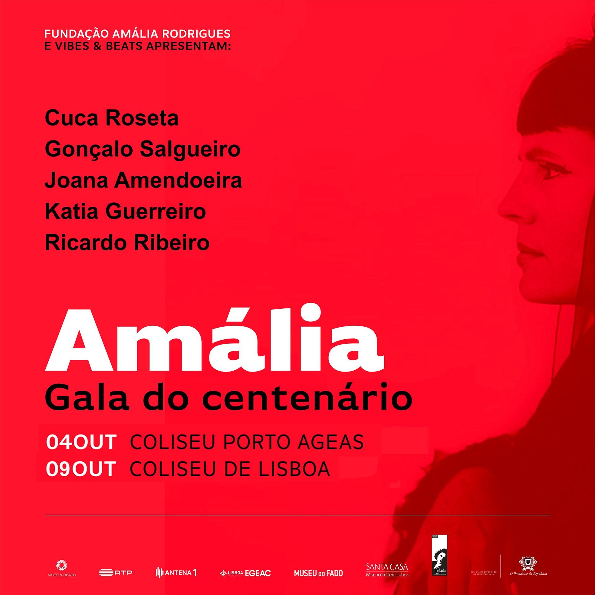 Homenagem a Amália Rodrigues dos 100 anos do nascimento - concerto