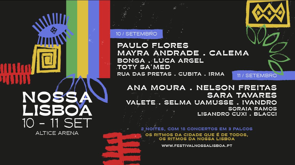 Cartaz Festival NOSSA LISBOA