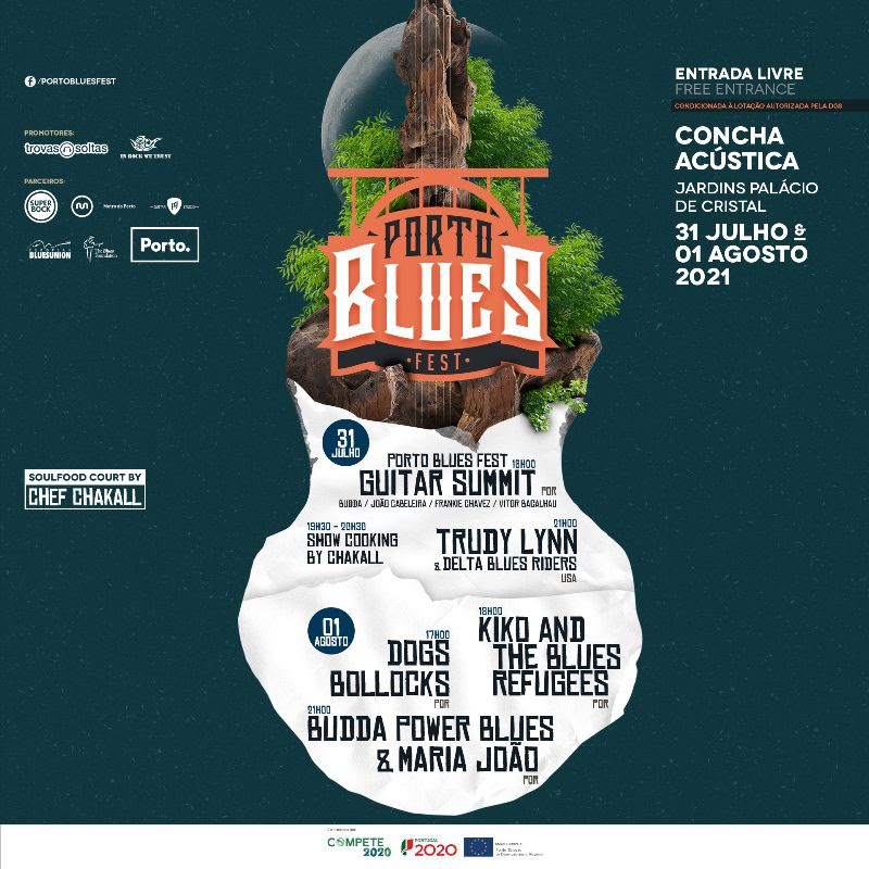 Cartaz Porto Blues Fest 2021