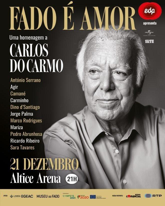 Fado É Amor - O grande concerto de Homenagem a Carlos do Carmo - convidados
