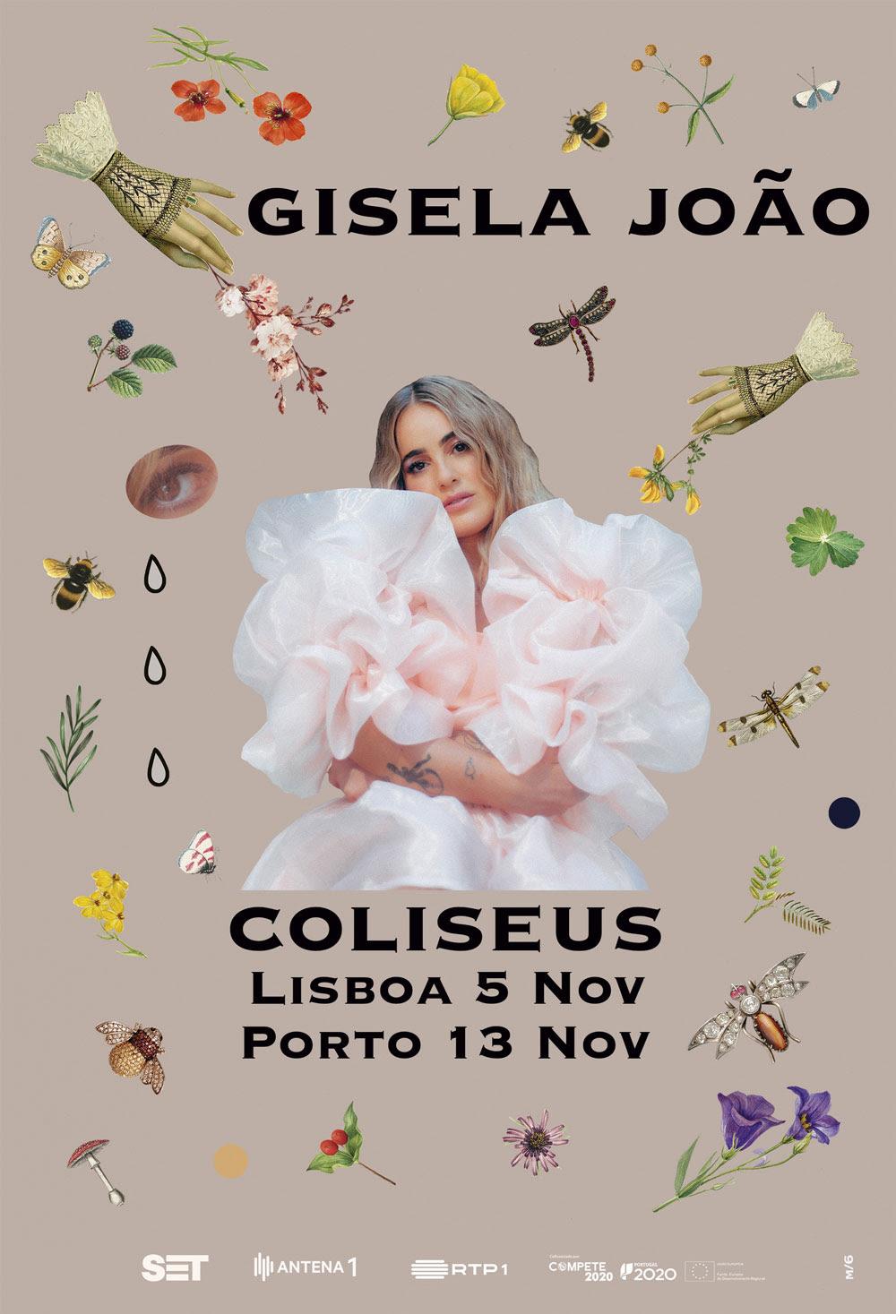 Gisela João - Coliseu - Porto - Lisboa - Aurora