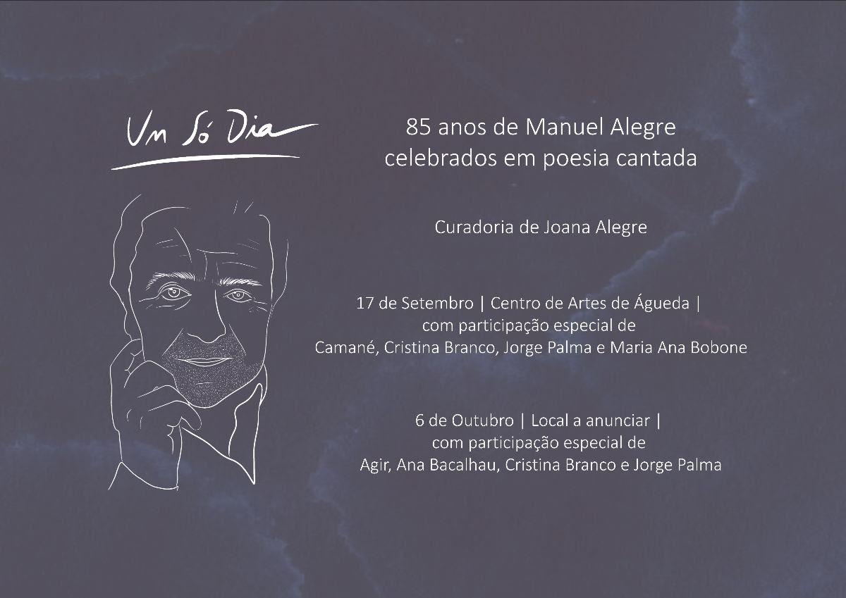 Joana Alegre homenageia Manuel Alegre
